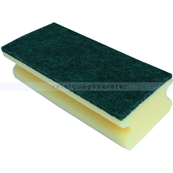 Vliesschwamm gelb-grün