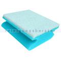 Vliesschwamm Sito Badschwamm blau weiß