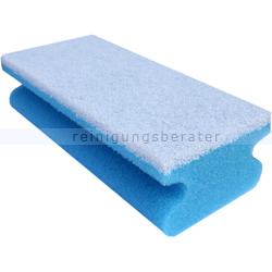 Vliesschwamm Sito Topfreiniger blau-weiß