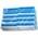 Zusatzbild Vliesschwamm Sito Topfreiniger blau-weiß 10er Pack