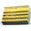 Zusatzbild Vliesschwamm Sito Topfreiniger gelb-grün 10er Pack