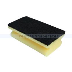 Vliesschwamm Sito Topfreiniger gelb-schwarz