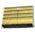 Zusatzbild Vliesschwamm Sito Topfreiniger gelb-schwarz 10er Pack