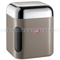 Vorratsdose S Wesco Canister eckig, warm grey 1 L