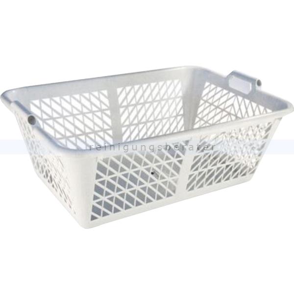 Teko-plastic Bekaform Wäschekorb Wäschekorb zum Aufbewahren von Kleidung, granit 10333139