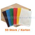 Wäschesack Novocal N46 Wäschenetz 400 x 600 mm weiß 50 Stück