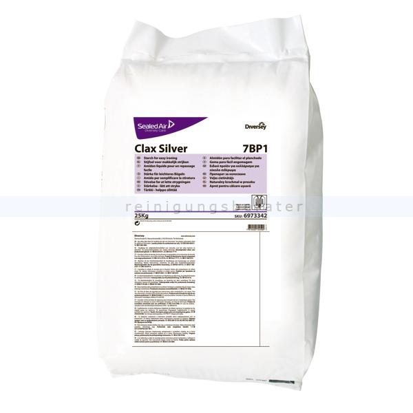 Wäschestärke Diversey Clax Silver 7BP1 25 kg Natürliche, pulverförmige Stärke 6973342