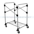 Wäschewagen Rubbermaid Wäschesammler X-Cart Rahmen 150 L