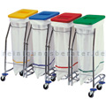 Wäschewagen Vermop Meditrans vierfach
