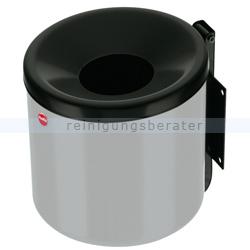 Wandaschenbecher Hailo ProfiLine easy 1,2 L Stahl silbergrau