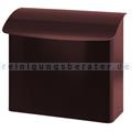 Wandbriefkasten, 41,5 cm Bordeaux