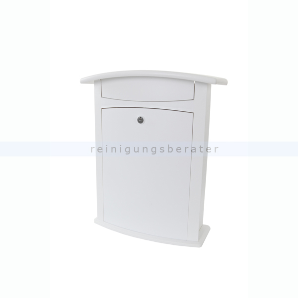 wandbriefkasten burg w chter briefkasten atlanta wei. Black Bedroom Furniture Sets. Home Design Ideas
