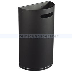 Wandmülleimer Rossignol Arkea 40 L Stahl mangangrau