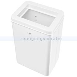 Wandmülleimer Wepa Abfallbehälter 50 Liter weiß