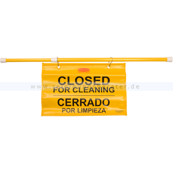 Warnschild Rubbermaid Sicherheitsschild, hängend gelb