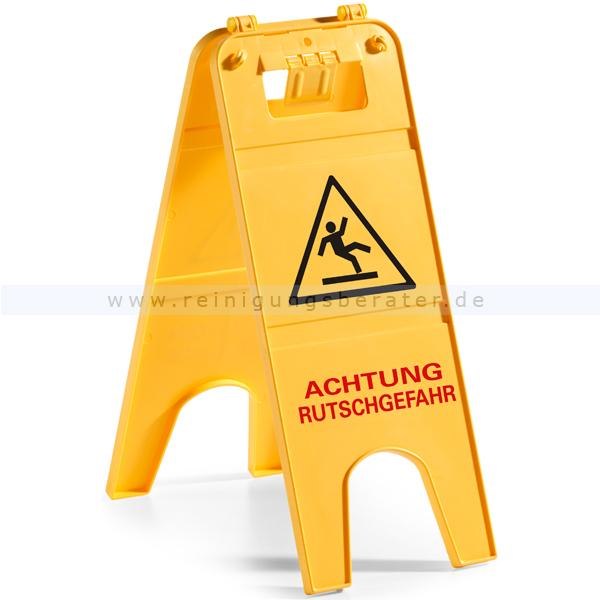 Warnschild TTS - Achtung Rutschgefahr! Warnhinweis