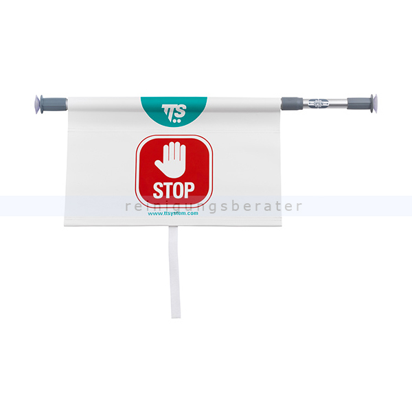 Warnschild TTS - Hängewarnschild STOP - Kein Durchgang