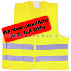 Warnweste EN 471 Gelb