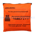 Warnweste Leina Warnwesten-Set FAMILY 2 plus 1