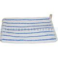 Waschhandschuh Meiko weiß-blau