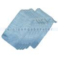 Waschhandschuhe Abstaubhandschuh Elegant blau