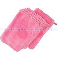 Waschhandschuhe Abstaubhandschuh Elegant rot