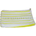 Waschhandschuhe weiß-gelb
