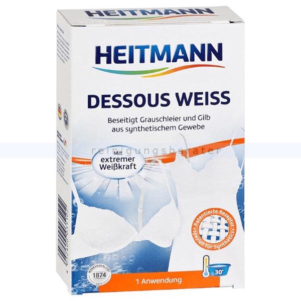 Brauns Heitmann Dessous Weiß 200 g lassen Sie Ihre Dessous strahlen