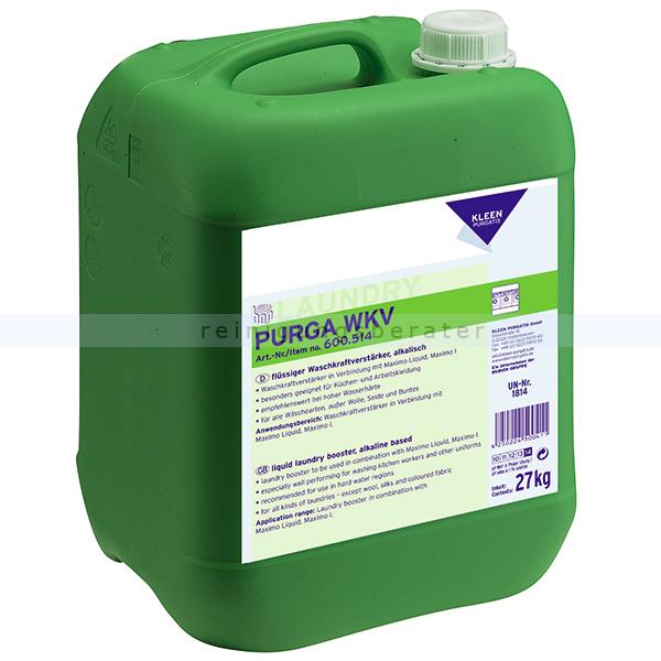Waschkraftverstärker Kleen Purgatis Purga WKV 27 kg flüssiger Waschkraftverstärker 90600514