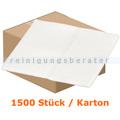 Waschlappen Abena Soft-Care Airlaid 20 x 30 cm weiß Karton