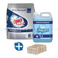 Waschmittelset Omo Advance inkl. Weichspüler und Klammern