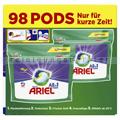Waschmitteltabs P&G Ariel All in 1 Pods Color 98 WL