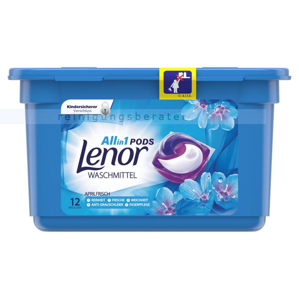 Waschmitteltabs P&G Lenor 3in1 Pods Aprilfrisch 12 WL