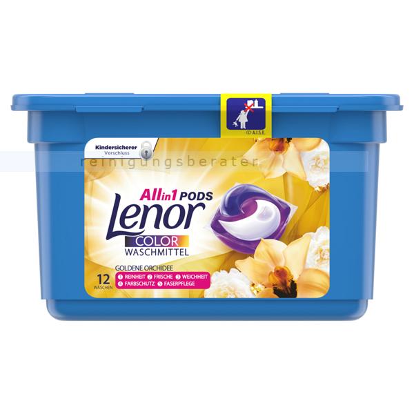 Waschmitteltabs P&G Lenor 3in1 Pods Goldene Orchidee 12 WL