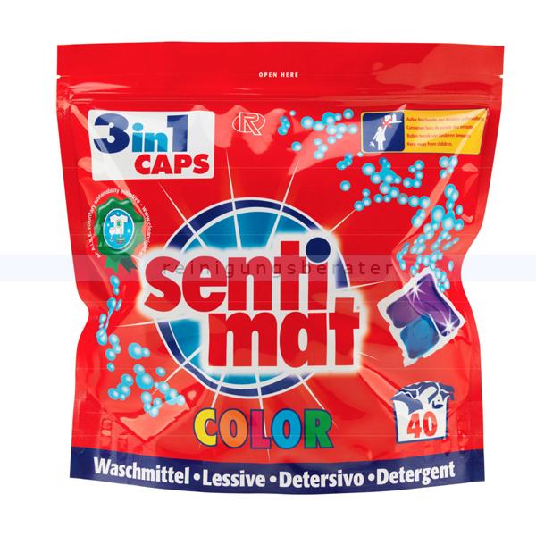 Waschmitteltabs Rösch sentimat color 3in1 Caps 40 WL
