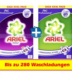 Waschpulver Ariel Professional im Doppelset zum Sparpreis
