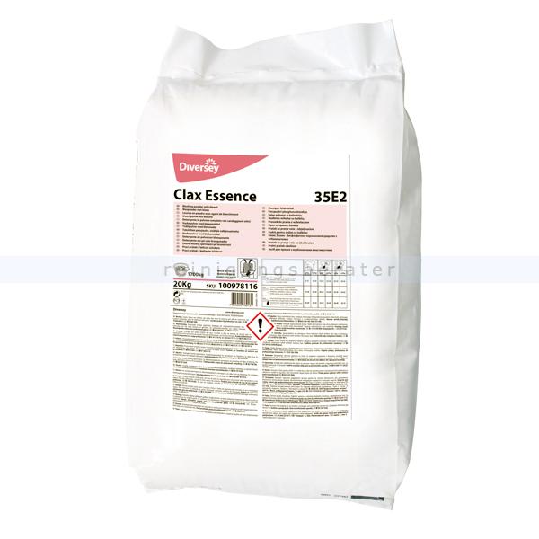 Waschpulver Diversey Clax Essence 35E2 20 kg Phosphatfreies Vollwaschmittel 100978116