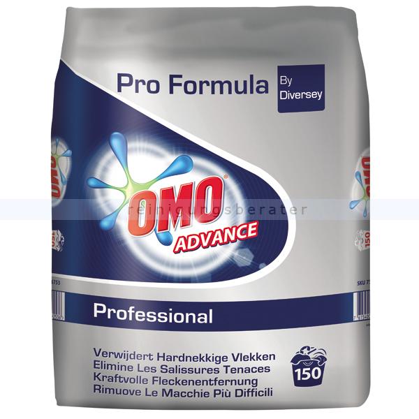 Diversey Omo Professional Advance Vollwaschmittel Phosphatfreies, universell einsetzbares Vollwaschmittel 7516753