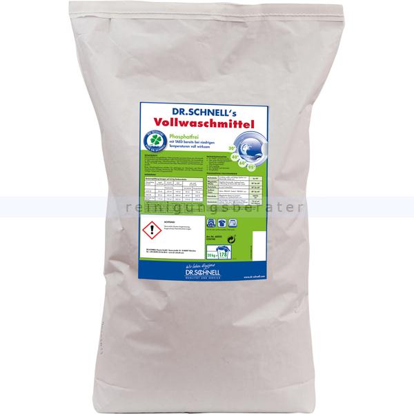 Waschpulver Dr.Schnell Vollwaschmittel 20 kg