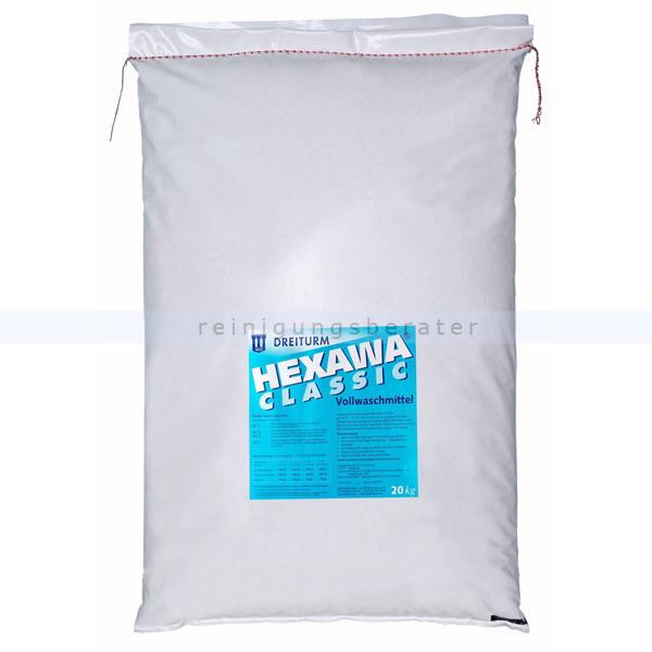 Waschpulver Dreiturm Hexawa classic 20 kg Vollwaschmittel 3250