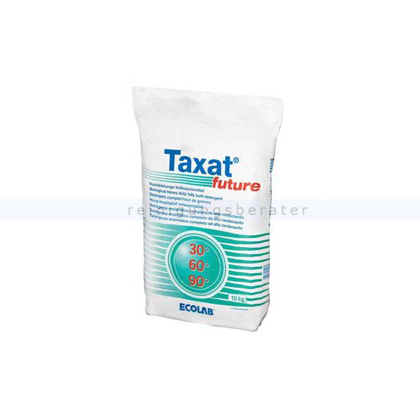 Ecolab Taxat Future 10 kg Waschpulver Vollwaschmittel für alle Textilien und Wasserhärten 1011460