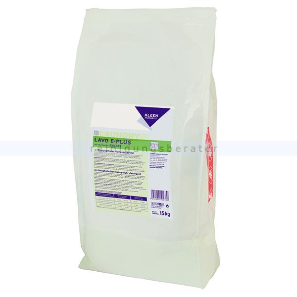 Kleen Purgatis Lavo E-Plus Vollwaschmittel 15 kg Waschpulver universelles, enzymhaltiges Vollwaschmittel 90224536