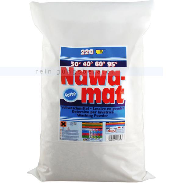 Waschpulver Rösch Nawamat Waschmittel 20 kg phosphathaltig Vollwaschmittel mit Oxi-Power 2100