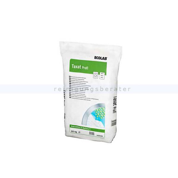 Ecolab Taxat Profi 20 kg Waschpulver Vollwaschmittel mit der Aktiv-Kraftformel 1101040