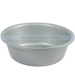Waschschüssel Bekaform Rundschüssel 40 cm silber