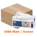 Waschtuch Tork Premium weiß 30x32 cm in 8 Spenderboxen