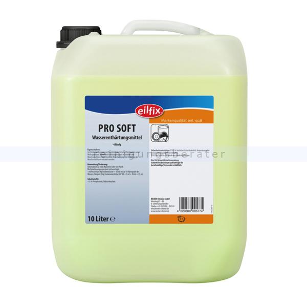 Becker Chemie Eilfix Pro Soft Enthärterzusatz 10 L Waschhilfsmittel für Waschmaschinen 100047-010-000