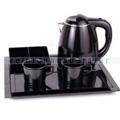 Wasserkocher Simex Black Line mit 3 Tabletts 1,2 L schwarz