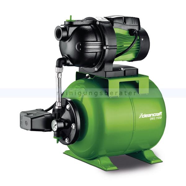 Wasserpumpe Cleancraft DWS 1105P Selbstansaugende Pumpe für die Wasserversorgung 7522100