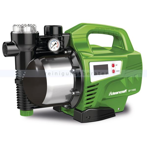 Wasserpumpe Cleancraft GP 1105S Für die Hauswasserversorgung oder zur Bewässerung im Garten 7521200